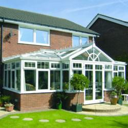 t-shaped conservatories