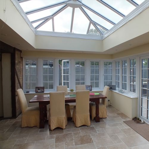 roof windows - a style of double glazed windows that covers skylights and roof lanterns