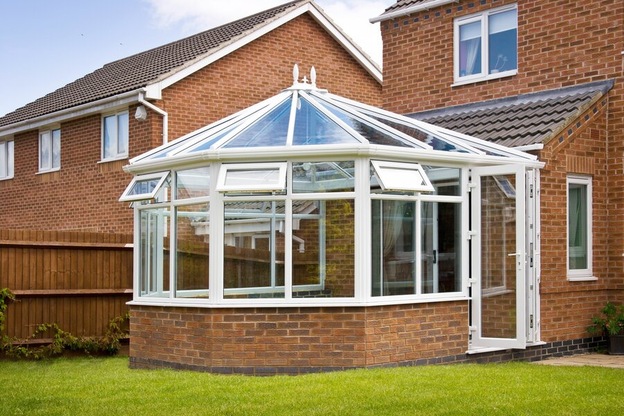 Victorian conservatory roof is quite a distinctive style