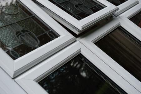 Casement Window Close Up