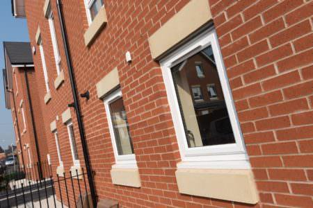 uPVC Casement Windows with Trickle Vents
