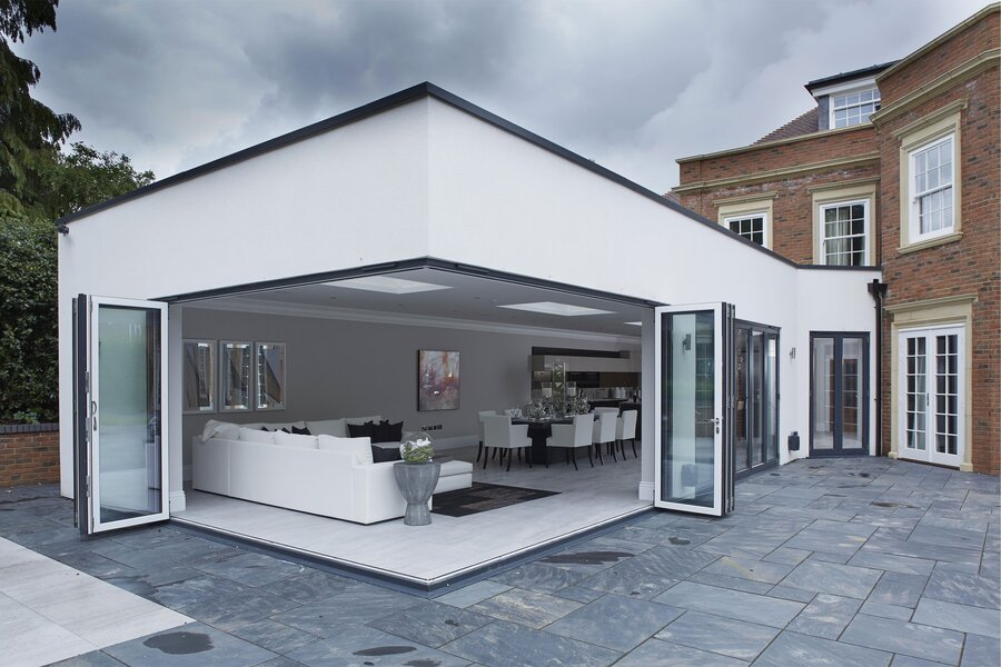 Aluminium Bi-Fold Doors & Bi-Fold Door Prices | uPVC Bi-Fold Door Bi-Folding Doors