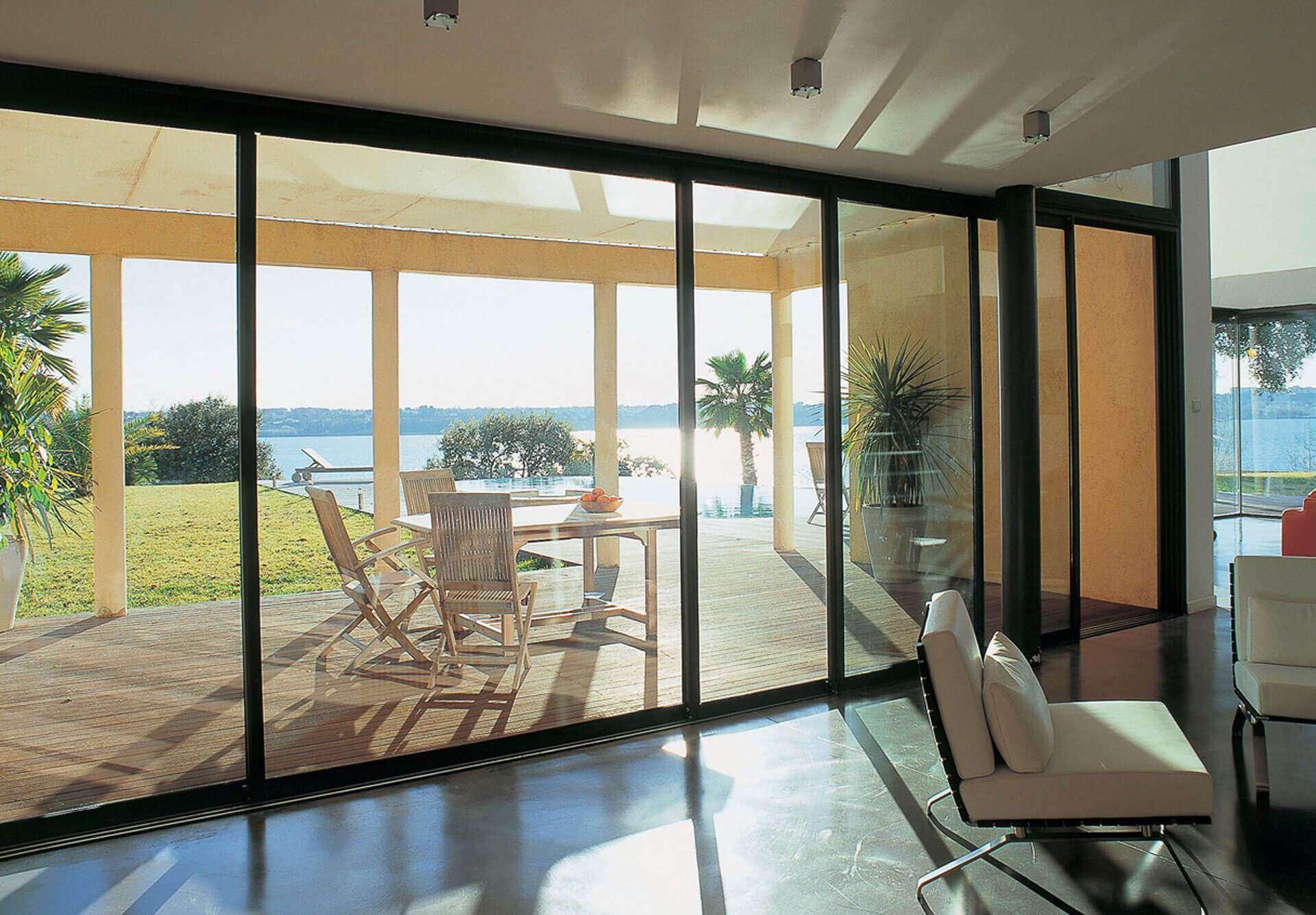 large patio doors mean higher double glazed doors prices