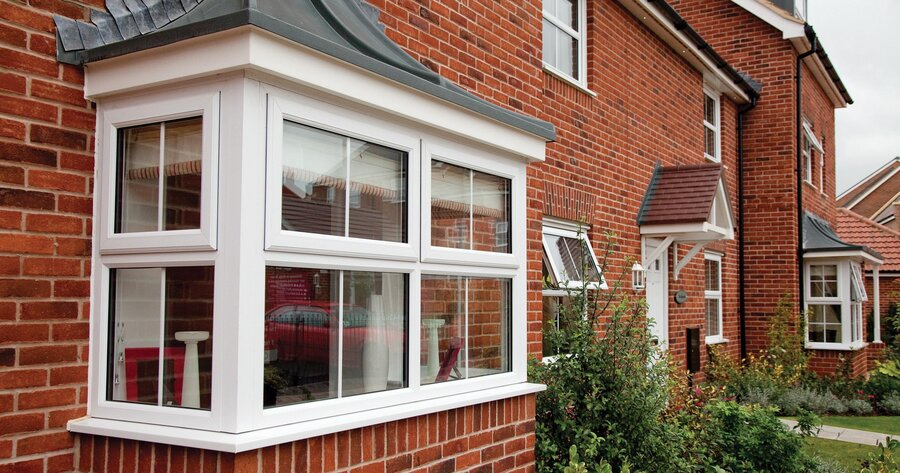 Bow bay windows bay window prices upvc windows cost for House window styles pictures