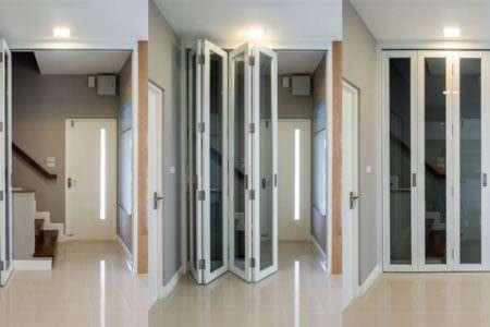 interior bi-folding doors