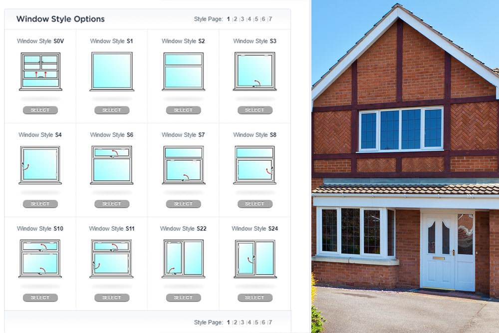 Casement windows double glazing on the web for Window panel design