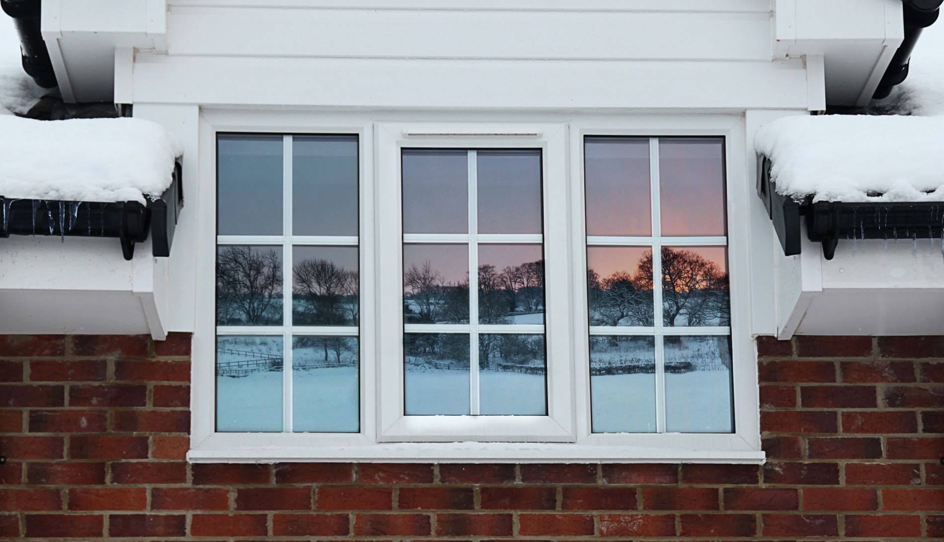 tinted or coated double glazing glass keeps out excess radiation