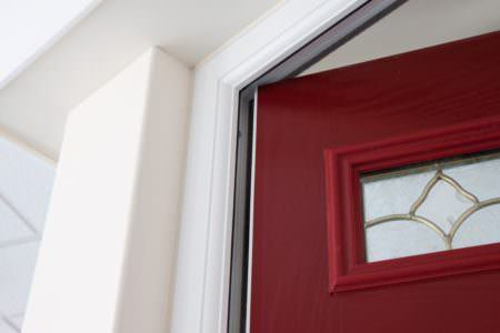 Coloured uPVC Front Door