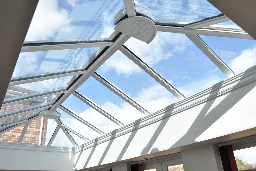Conservatory roofs double glazing on the web for Triple glazing