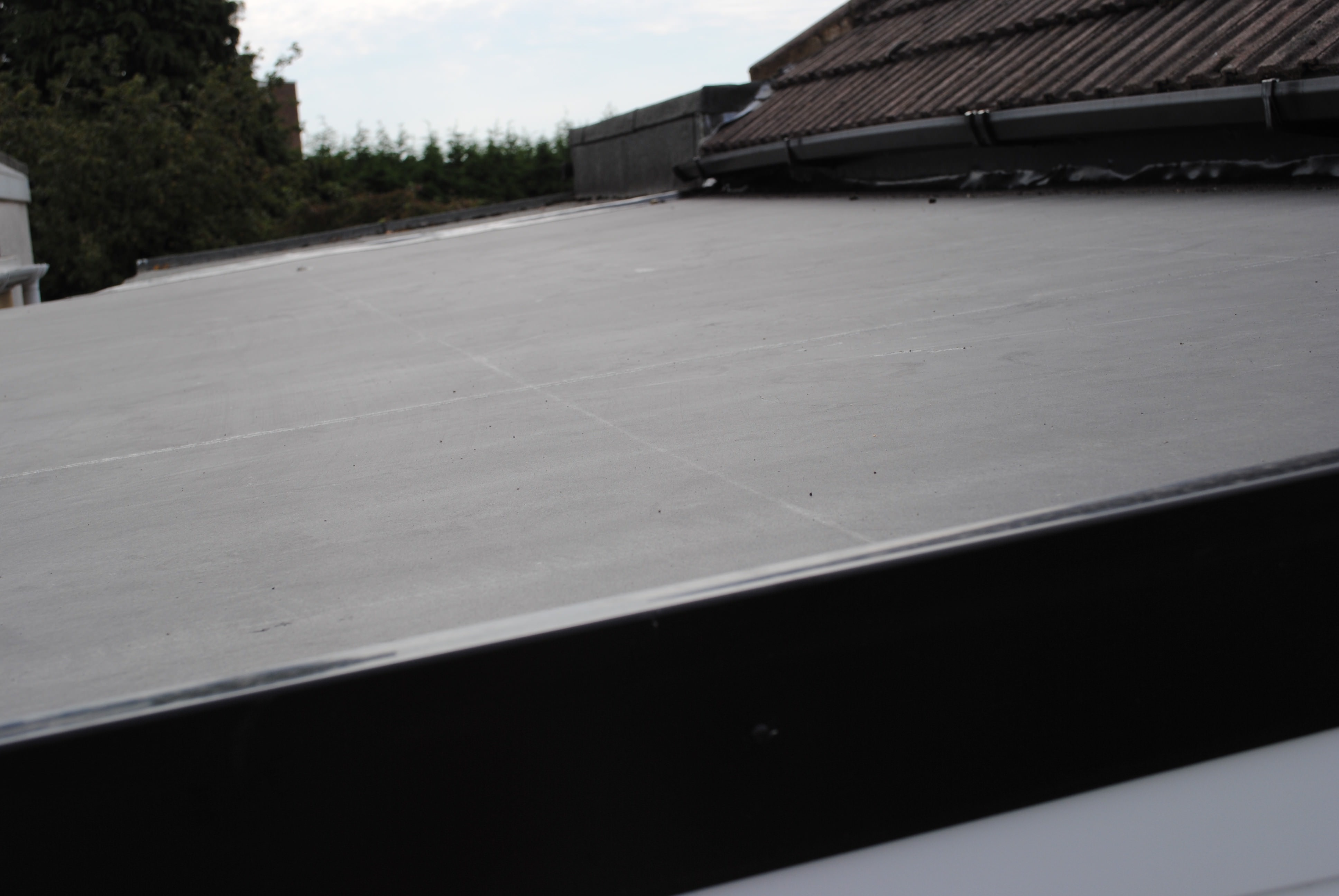 Flat Roofing Roofline Replacement Double Glazing On
