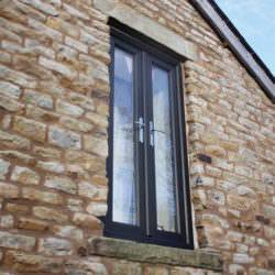 French Window on Gable End