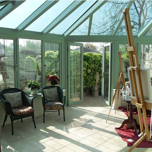 Inside Victorian Conservatory