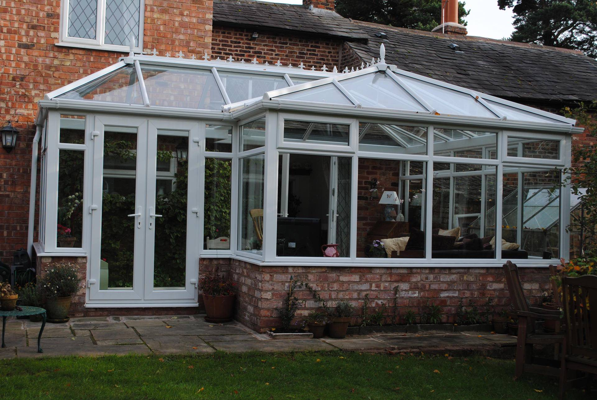 l-shaped conservatories