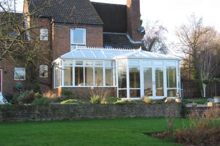 L-Shaped Conservatory