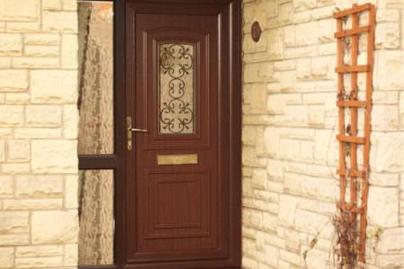 Mahogany Front Door Fitted Prices