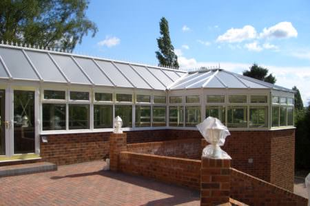 P Shape Conservatories