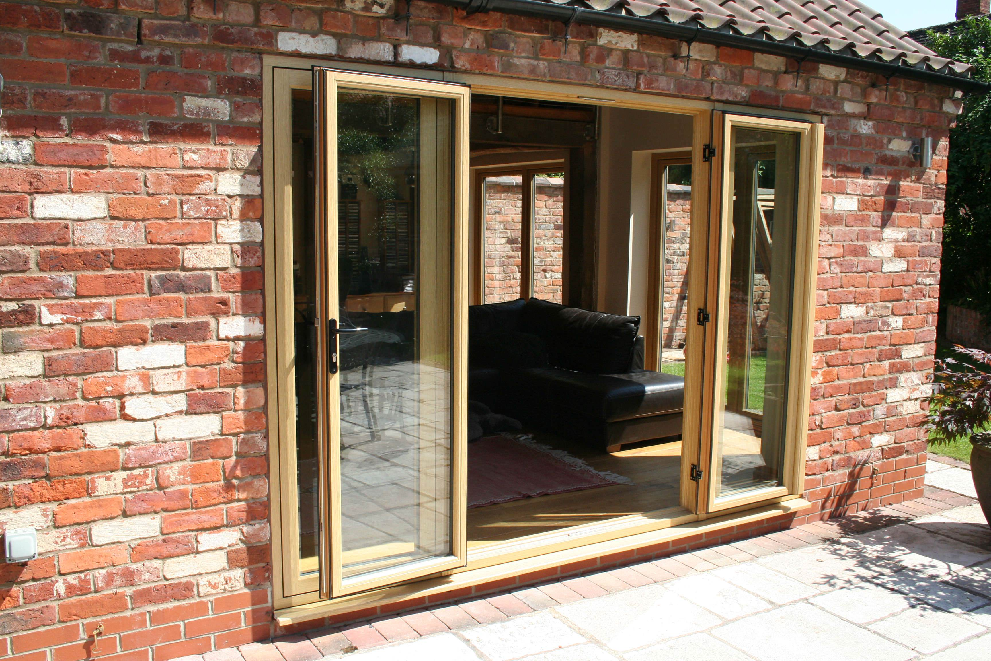 timber doors double glazing on the web