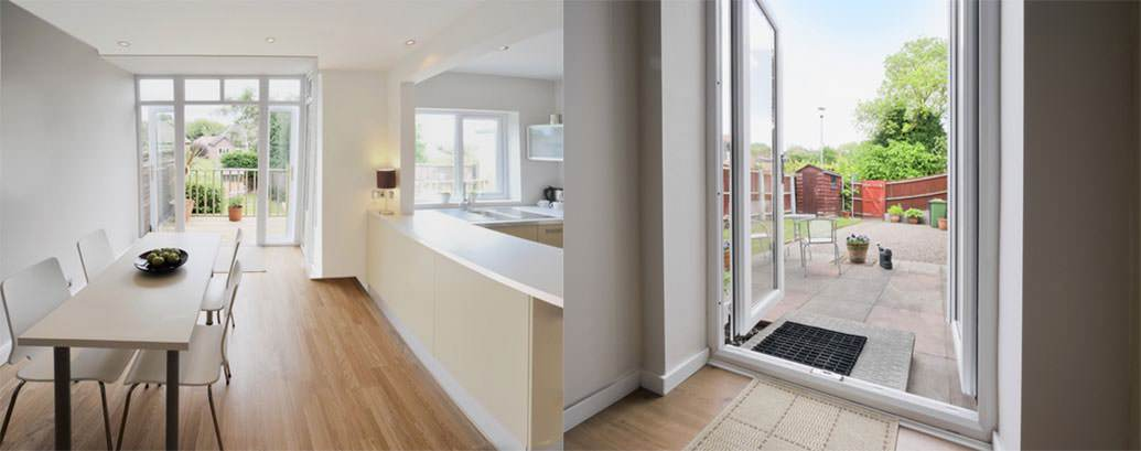 Upvc french doors internal and external french door prices for Double glazed upvc french doors