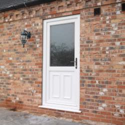 Back doors upvc exterior back doors back door prices for Upvc back doors fitted