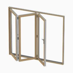 Wood effect uPVC Bi-folding door