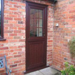Wood effect stable door