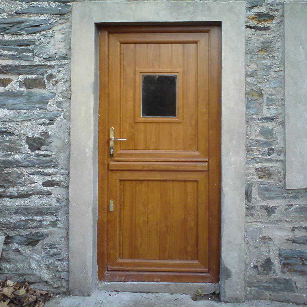 How long does it take for a door to be installed?