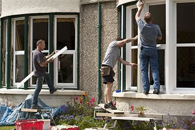 Double glazing installation companies will measure double glazing sizes before ordering