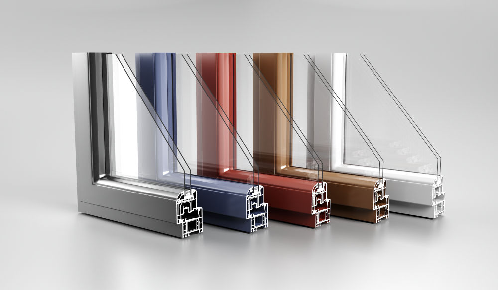 coloured upvc doors prices