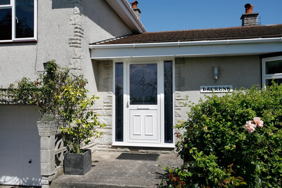 modern front doors prices