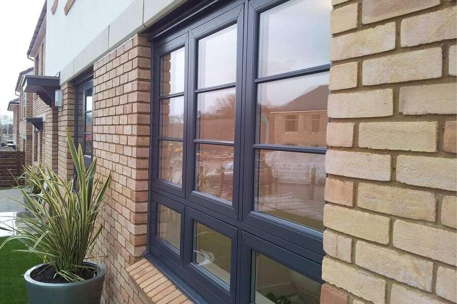 grey upvc windows prices