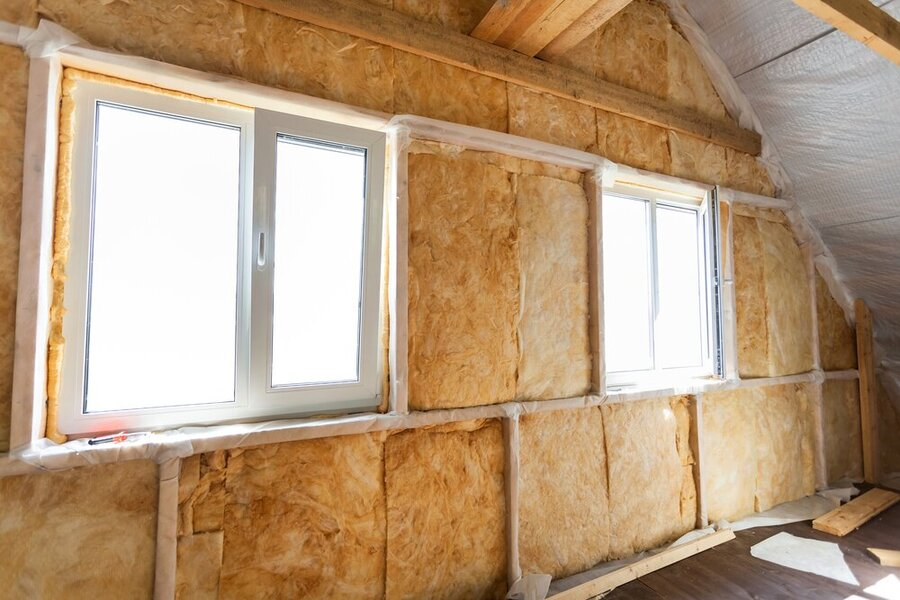 wall insulation vs double glazing