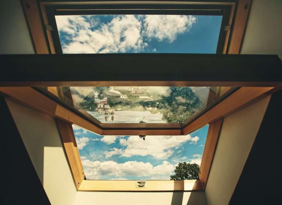 upvc roof windows design